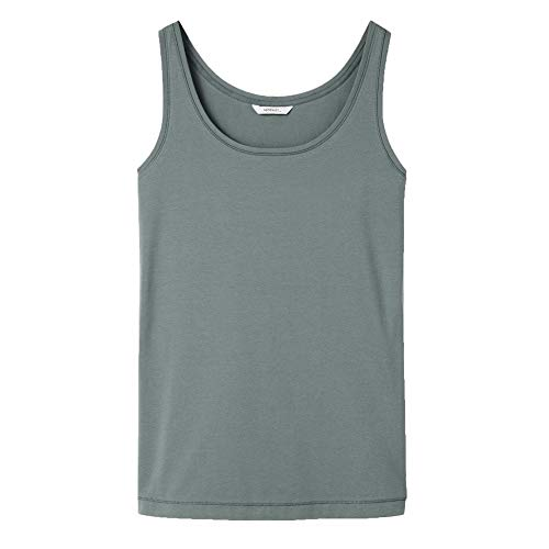 Sandwich Vest Top - 21101649 XS Khaki