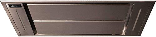 Kaiser EA 1145s Premium Line Deckenhaube 110cm /Dunstabzugshaube Schwarz Bruniertes Edelstahl/Saugstark 1250m³/h/Dunstabzugshaube Einbau/Fernbedienung/ LED Lampen/Abluft und Umluft/Inkl. Umluftset/