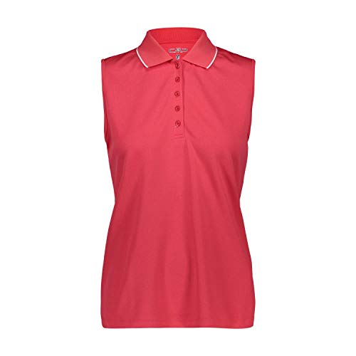 CMP Damen Polo T-Shirt, Corallo, 36 EU