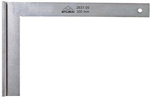 Stubai 263105 - Escuadra de cerrajero metálica con tacón (300 mm)