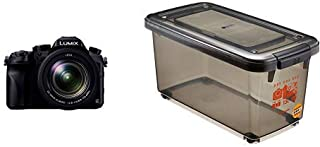 Panasonic デジタルカメラ ルミックス FZH1 2010万画素 光学20倍 ブラック DMC-FZH1+HAKUBA ドライボックスNEO 15L スモーク 防湿庫 KMC-41