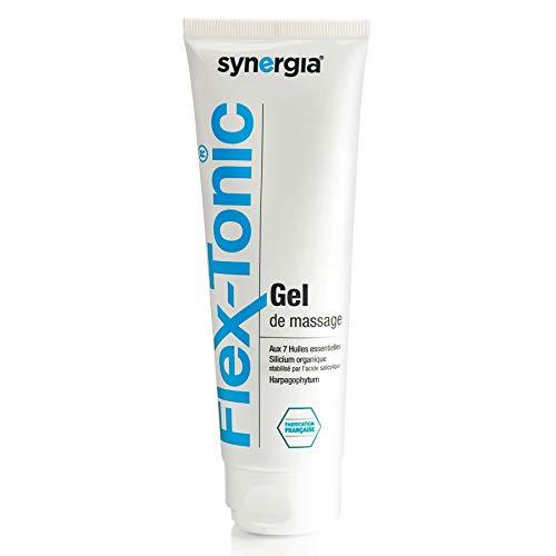 Flex-Tonic gel 🍃 Gel articulaire à base d'harpagophytum et d'huiles essentielles 🍃 Sans paraben et 100% naturel 🍃 Origine France 🍃 Tube 100ml