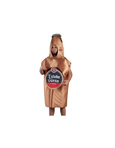 DISBACANAL Disfraz botelln Cerveza Adulto - -, Adulto