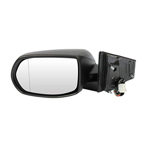 SCITOO Driver Left Side Mirror Flat Side View Mirror Fits for 2012-2016 for Honda CR-V Power Control Heated Manual Folding HO1320269 76258T0AA21