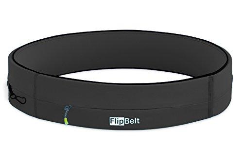 FlipBelt(フリップベルト) スポーツウエストポーチ ジッパー カーボン FZC M