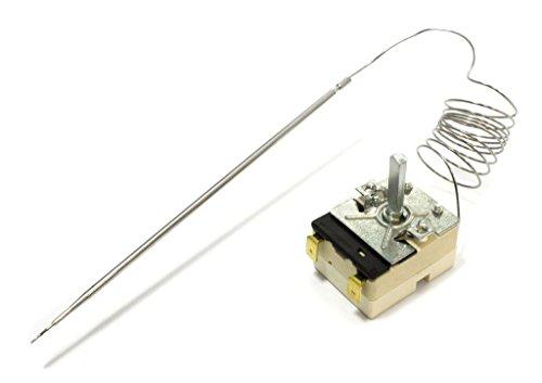 Backofenthermostat, Thermostat Backofen passend für EGO 55.13069.500, Amica 8001585, Bosch Siemens 072943