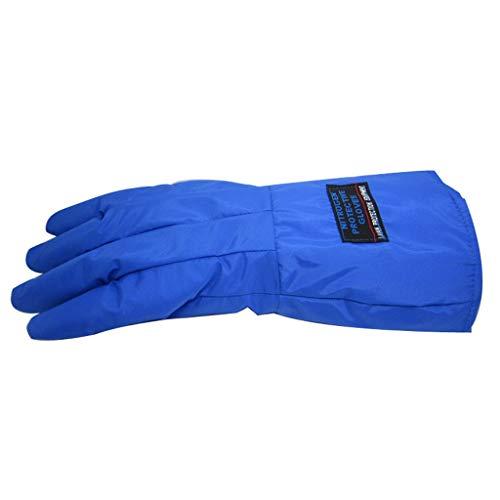 Npeiyi Industriehandschuhe Kryo-Handschuhe Wasserdichte Arbeitsschutzhandschuhe Flüssiger Stickstoff Tiefgekühlte Handschuhe Kaltlagerung Kryo-Arbeitshandschuh Hochleistungs-Gartenhandschuhe For Männe