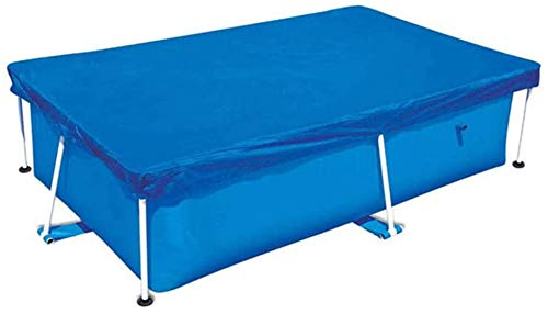 Funda Piscinas Hinchable Rectangular Cubierta Piscina 300x200x66 cm,Yobby Cobertor para Piscina Solar...