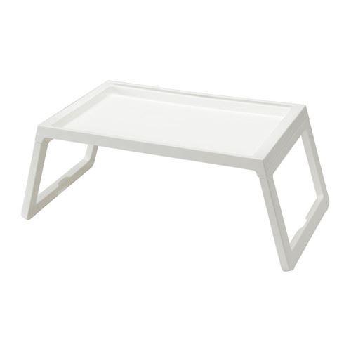 Klipsk–Vassoio per la colazione a letto, bianco