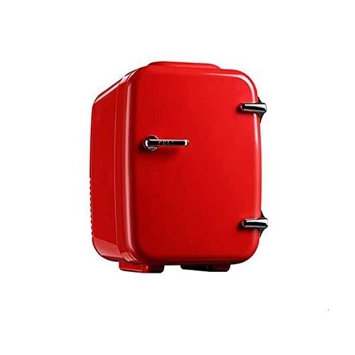 LVYE1 MRMF Mini Refrigerador De Coche De 4L, Mini Refrigerador Portátil, Calentador De Refrigerador Multifunción para El Hogar, Calentador Y Enfriador De Refrigerador De Coche Multifunción