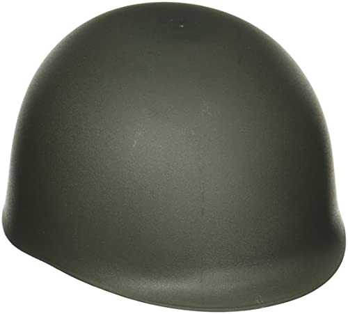 Jacobson Hat Company Men's Army Helmet, Green, Adult