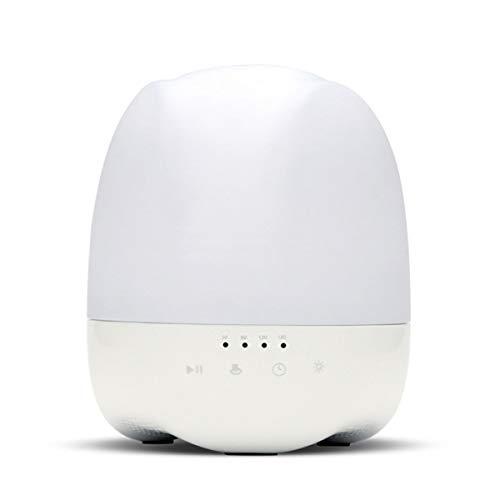 Luftbefeuchter, leistungsstarker Kühlnebel, 350 ml, Ultraschall-Diffusor, mit Bluetooth-Lautsprecher, Timer-Einstellungen, für Schlafzimmer, Zuhause, Baby