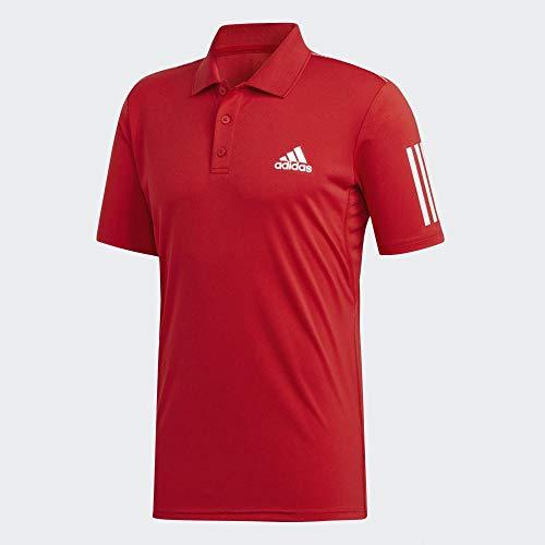 adidas Herren Club 3Str Polo, Escarl, XL