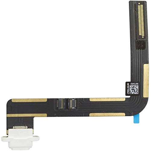 T Phael Dock Connector Compatible with iPad Air A1474 A1475 | iPad 5 5th Gen 9.7 inch 2017 A1822 A1823 | iPad 6 6th Gen 2018 A1893 A1954 Charging Port Replacement Flex Cable(White)