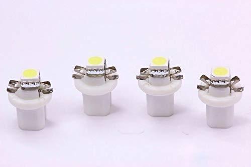 4x warmweiße high Power B8.5D SMD-LED Tachobeleuchtung Umbauset Plug and Play
