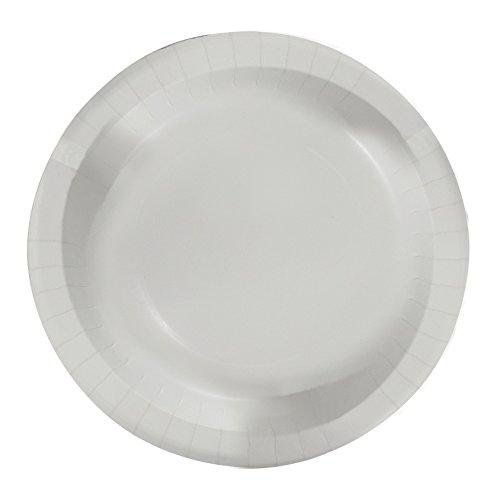 Concept Party Products CPPL48WH 48 - Platos de papel para cena Blanco