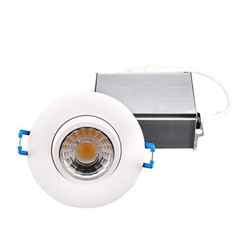Hi-Bright 3 Inch Gimbal Recessed LED Down light,120V, 8W, 3000K