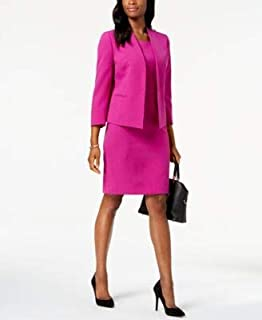 LE SUIT Womens Purple Suit Wear To Work Jacket US Size: 10