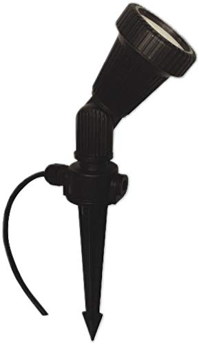 7 W (PA) - 230 V GU10 LED Gartenlampe mit Erdspiess - warmweiss