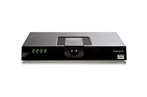 Xoro HRT 8719 Full HDHEVC DVB-T/T2Receiver(H.265, HDTV, HDMI, kartenloses Irdeto-Zugangssystem für freenet TV, Mediaplayer, USB 2.0, 12V) schwarz