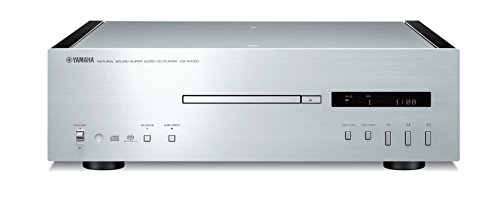 Yamaha CD-S1000 HiFi CD Player Schwarz, Silber - CD-Spieler (2 - 50000 Hz, Schwarz, Silber, 435 x 440 x 137 mm)