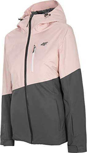 4F Damen Skijacke Honey, Light Pink, L
