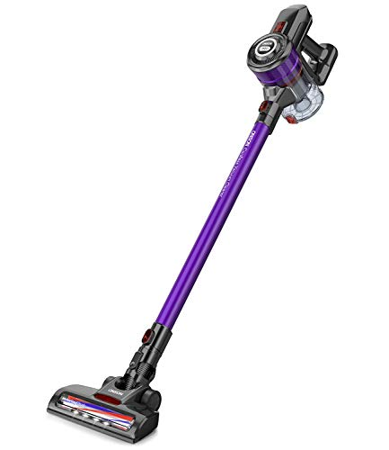 Cordless Vacuum, ONSON Stick Vacuum Cleaner, Powerful Cleaning Lightweight Handheld Vacuum with Rechargeable Lithium Ion Battery