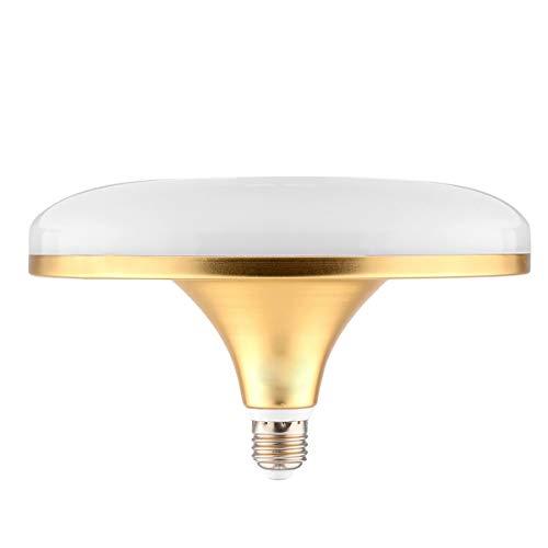 Wangqianli E27 LED Ampoule CA 100V Plat de la Lampe UFO 100LED 5730 SMD Haute Puissance 50W, équivalent de l'halogène 500W, adapté à l'éclairage Domestique (Taille : Blanc Froid)