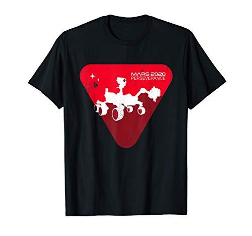 Mars Rover Perseverance Logo 2021 New NASA Mars Rover Camiseta
