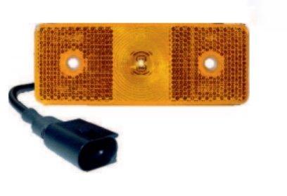 Pilot Seite LED Kabel 0,5MTS 90° mit Anschluss
