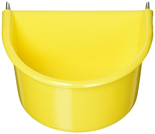 Living World Large Seed Cup for Parrots, Assorted Colors