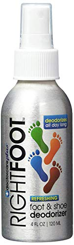 RightFoot Shoe and Foot Deodorizer Spray, Fresh...