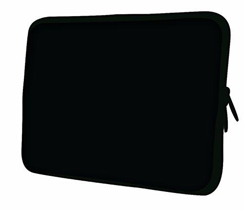 Ektor Notebook-Tasche, für Notebooks von 10 bis 17,6 Zoll, Schwarz - Schwarz - Größe: 12