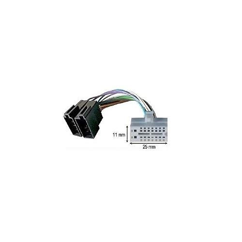 Câble adaptateur connecteur faisceau ISO pour autoradio CLARION 16 pins