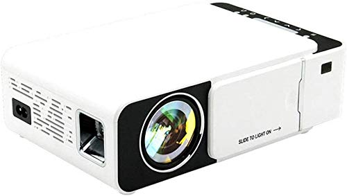 Projector helderheid Mini LED-projector 100 ANSI Lumens 800x480 1080P Beamer Home Theater hetzelfde scherm Android Multimedia Version (Kleur: Wit, Maat: Een maat) dljyy