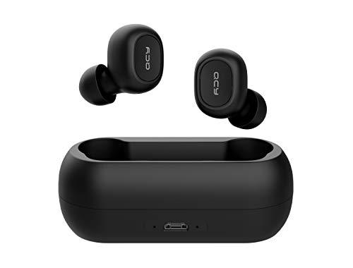 QCY T1 Bluetooth 5.0 Sport-Kopfhörer In-Ear, 20 Stunden Akkulaufzeit, Wireless kabellos für iPhone Android mit starkem Powerbank, IPX4 wasserdicht und Mikrofon*
