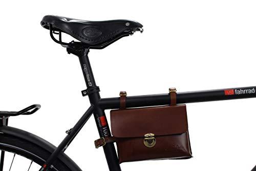 GUSTI borsa telaio bici in pelle - Firmin L. accessori telaio pelle borsa bici telaio accessori bici vintage