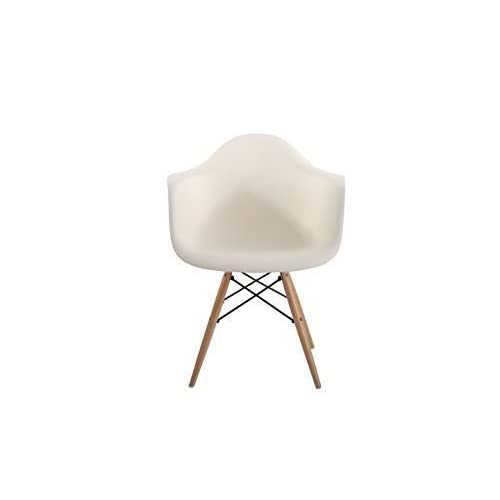 12 or 24 x Alessia Eiffel Chair Ribbed Plastic Dining Scandinavian White Grey