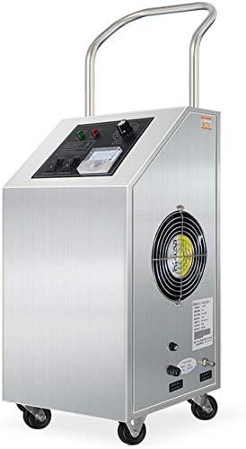 MGWA Purificador de Aire Generador De Ozono Purificador De Aire, Portátil Industrial 5,000 MG/H Comercial O3 del Esterilizador del Desodorante For Habitaciones, Humo, Automóviles Y Mascotas