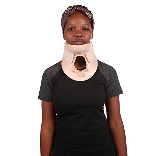 HWQ Cervical Spine Protector, Revalidatie Vaste Cervicale Orthose, Nylon Gesp + Kunststof Ring