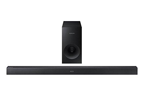 Samsung HW-K360/EN 2.1 Soundbar (130 W, kabelloser Subwoofer, Bluetooth) schwarz