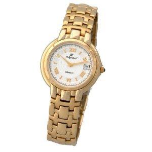 Oskar Emil - Reloj de Caballero de Cuarzo, Correa de Acero Inoxidable Color Oro