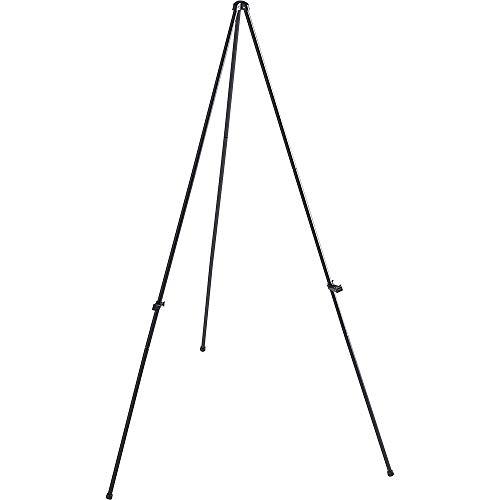 Folding Easel, Adjustable Display Holder, 63' H, Black, Sold as 1 Each