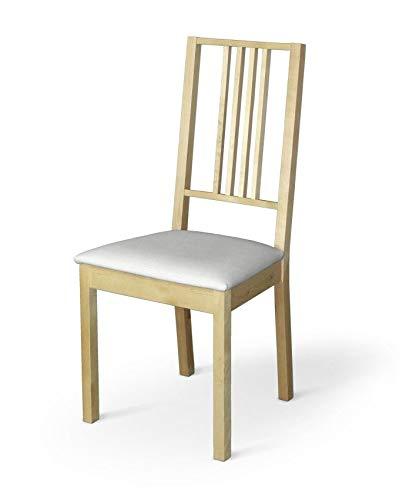 Dekoria Börje Sitzbezug Stuhlbezug Stuhlkissen passend für IKEA Modell Börjel Weiss