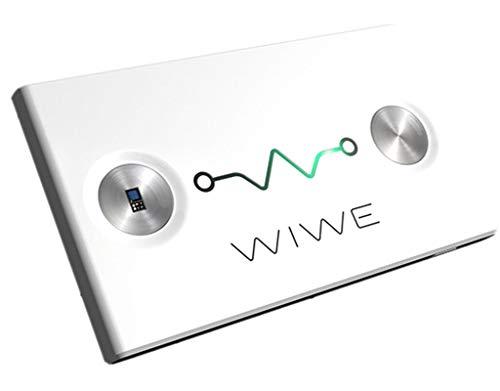 WIWE EKG und HRV Messgerät Weiss - mobiler und Flexibler Herzmonitor