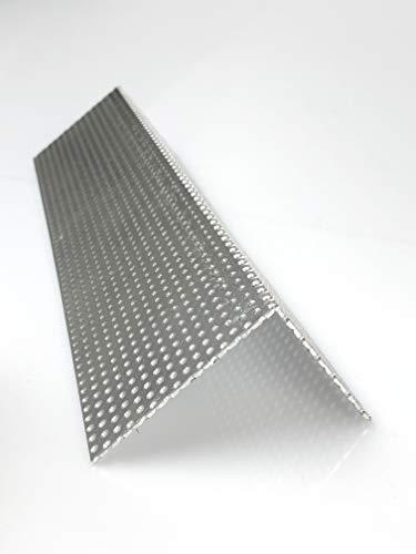 Lochblech Alu Winkel RV 3-5 Winkelprofil 1,5mm Länge 1000mm, Individuell nach Maß (Schenkel: 20mm x 20mm)
