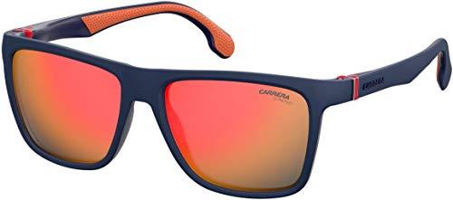 Carrera CA5047/S Gafas de sol rectangulares de plástico para hombre para mujer + kit de cuidado iWear de diseñador gratis