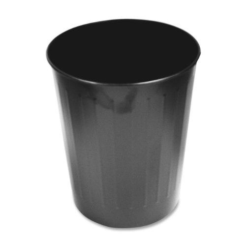 Genuine Joe Steel 6 Gallon Fire-Safe Trash Can