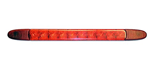 HELLA 2DA 343 106-017 Feu stop additionnel - LED - 24V - Montage en saillie/vissé - Couleur du voyant: rouge - Couleur LED: rouge - Câble: 3000mm - arrière - Quantité: 30