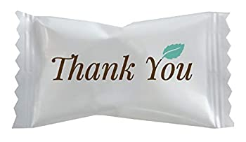 Hospitality Mints Individually Wrapped Mints with Thank You Message Buttermint 26 Oz  HMT000501